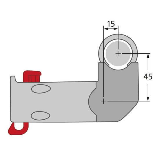 Adapteris E 90